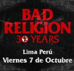 Concierto de Bad Religion-30 years aniversary en Lima-Peru